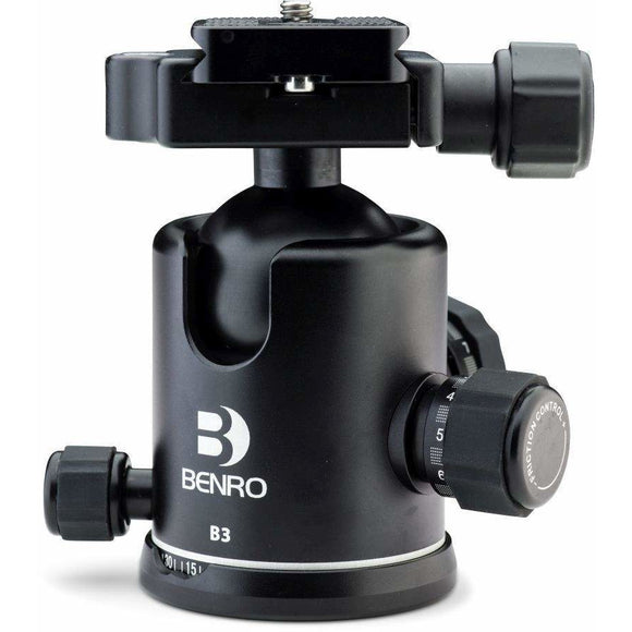 Benro B3 Tripod Ball Head (44mm), 5-Year Warranty (Australia)