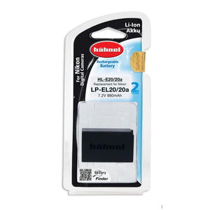 Hahnel HL-EL20a Rechargeable Li-ion Battery for Nikon COOLPIX P1000, Nikon 1 V3