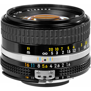 Nikon Nikkor 50mm f1.4 Manually-Focusing Lens