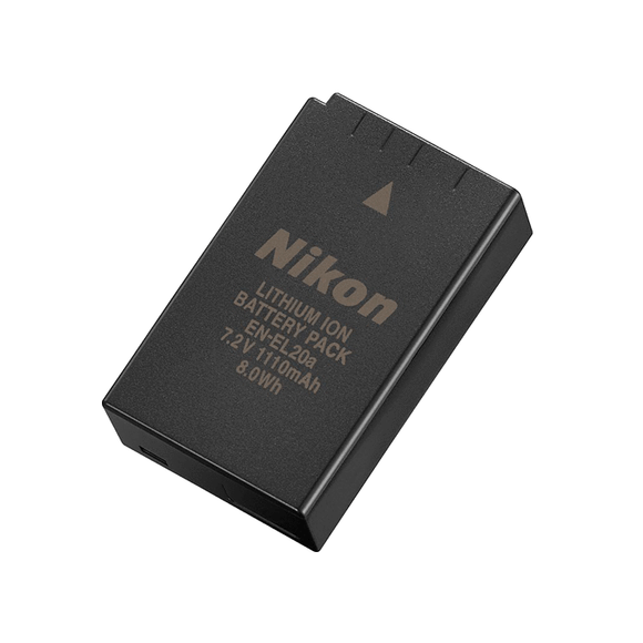Nikon EN-EL20a Rechargeable Li-ion Battery - COOLPIX P1000, Nikon 1 V3