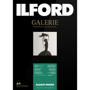 ILFORD Galeri Glossy Photo 260 gsm A3 Photo Paper 25 Sheets