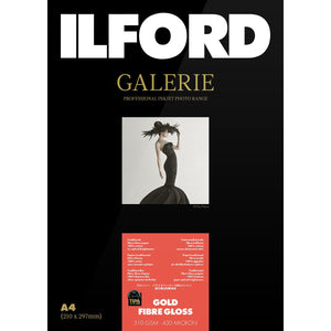 "TIPA Awarded Galerie Gold Fibre Gloss Photo Paper 310GSM 6""x4"" 50s"