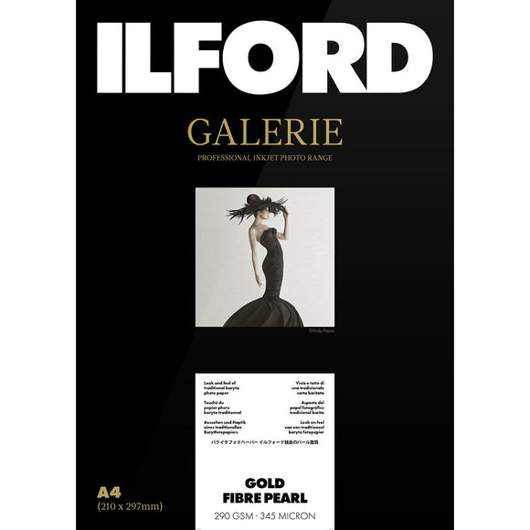 ILFORD Galerie Gold Fibre Pearl Photo Paper 290 GSM A2
