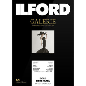 "ILFORD Galerie Gold Fibre Pearl Photo Paper 290 GSM 5""x7"" 50 Sheets"