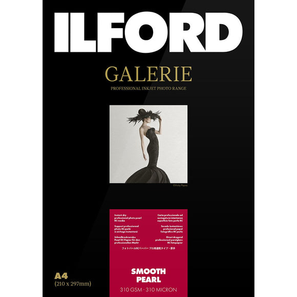 ILFORD Galerie Smooth Pearl 310 GSM Photo Paper A3+ 25 Sheets