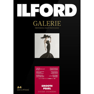 "ILFORD Galerie Smooth Pearl 310 GSM Photo Paper 5""x7"", 100 Sheets"