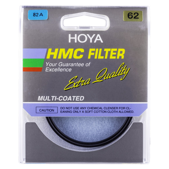Hoya 82A light balancing filters used to adjust color temperature slightly for a cooler (bluer) tone.