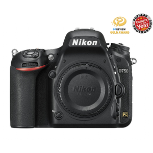 Nikon D750 Digital SLR Camera Body (Lens not included)