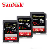 Sandisk Extreme Pro SDXC UHS-II Memory card 300MB/S Class 10