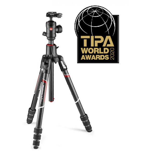 Manfrotto Befree GT XPRO Carbon Tripod - MKBFRC4GTXP-BH