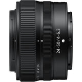 Nikon Nikkor Z 24-50 mm f/4-6.3 Lens, 2-YEAR WARRANTY