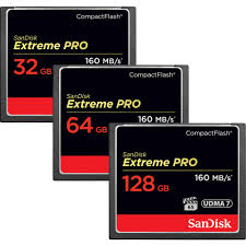 Sandisk Extreme Pro CompactFlash 160 Mb/s CF Card