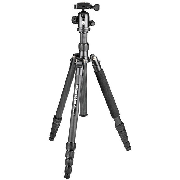 Manfrotto Element Traveller Tripod Big + Ball Head & Monopod Leg, Carbon Fibre