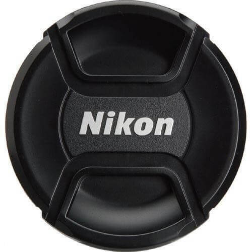 Nikon Lens Cap LC-52 52mm Snap On, Front