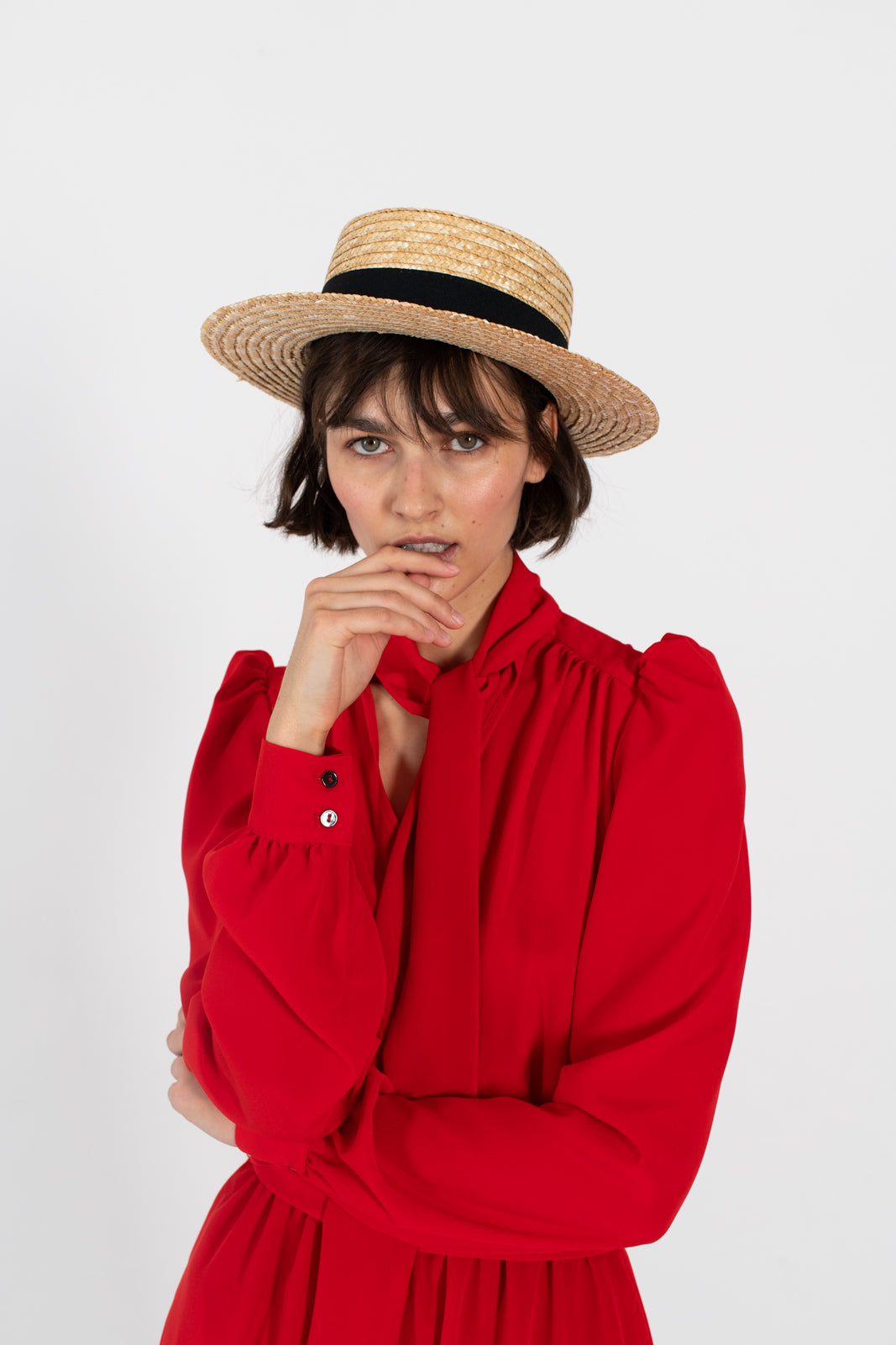 le-slap-statement-fashion-summer-dress-style-inspo-hat