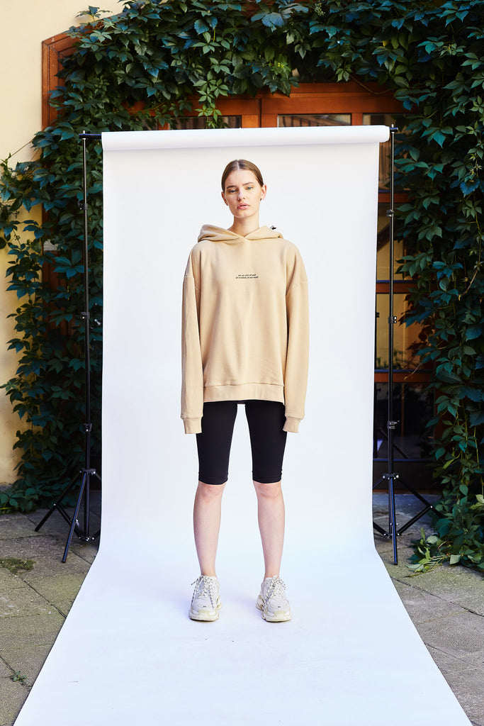Le SLAP, Le SLAP clothing, Le SLAP brand, nude colours, nude colour sweater, earth colour ways