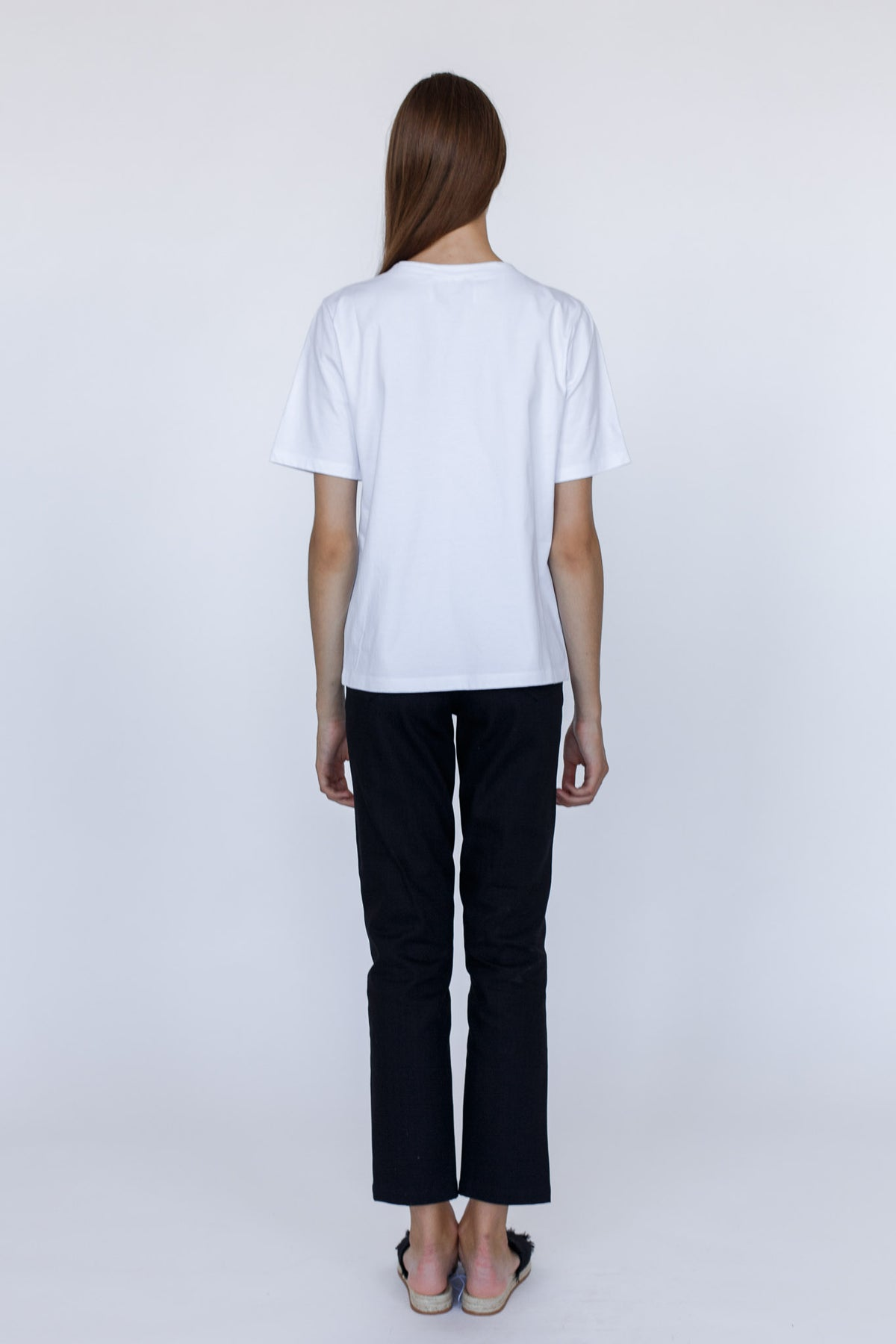 KIND | Pure white cotton quote t-shirt