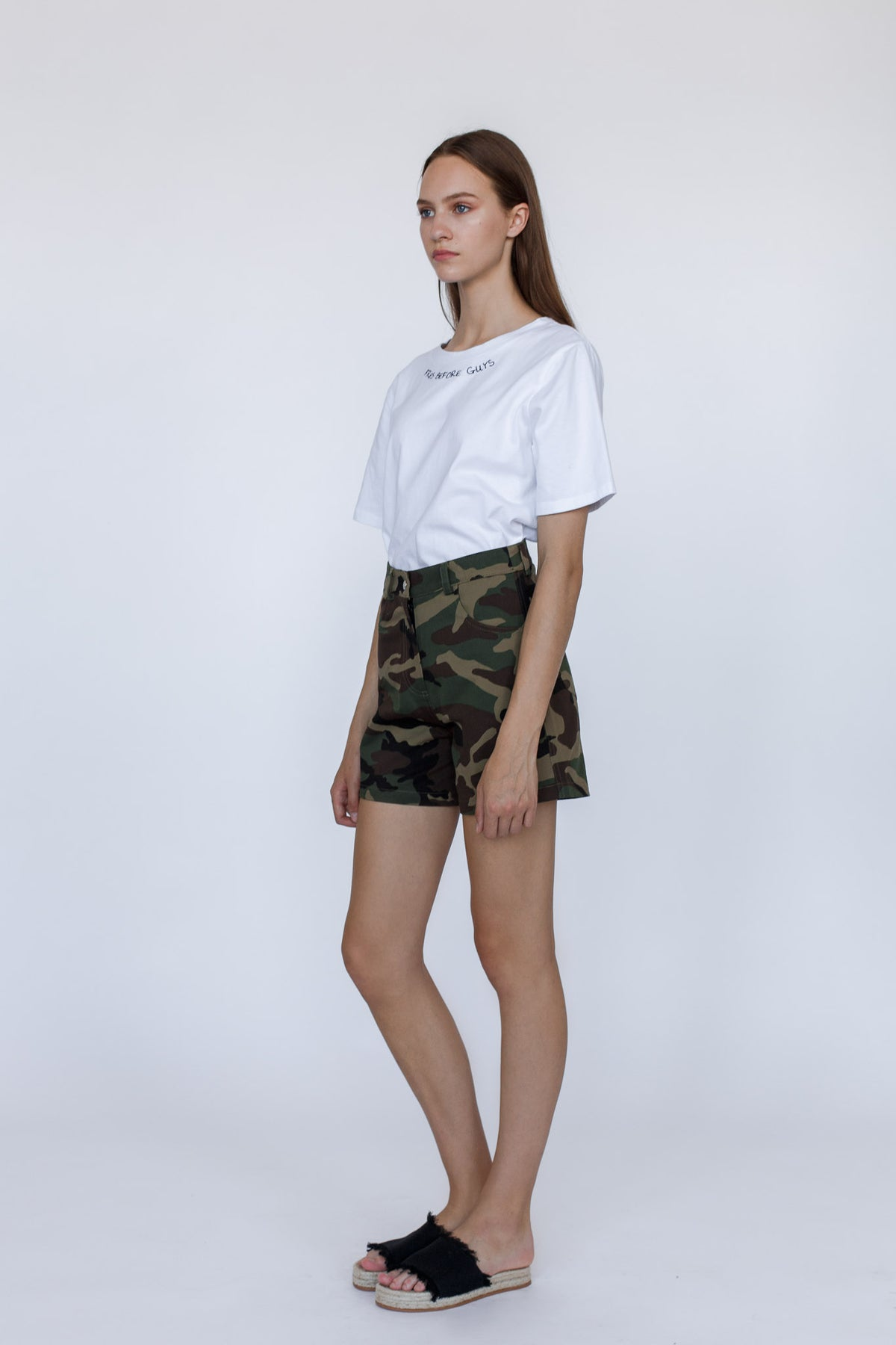 CAMO SERIES | Camouflage print shorts