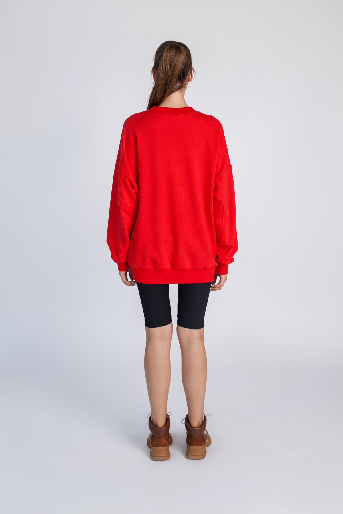 RUSSKI | Scarlet red oversize sweater