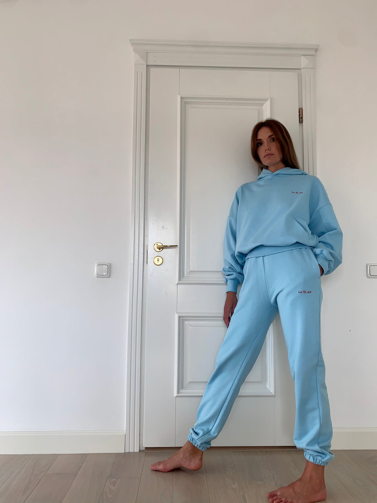 UNIFORM | Heaven Blue lounge wear joggers