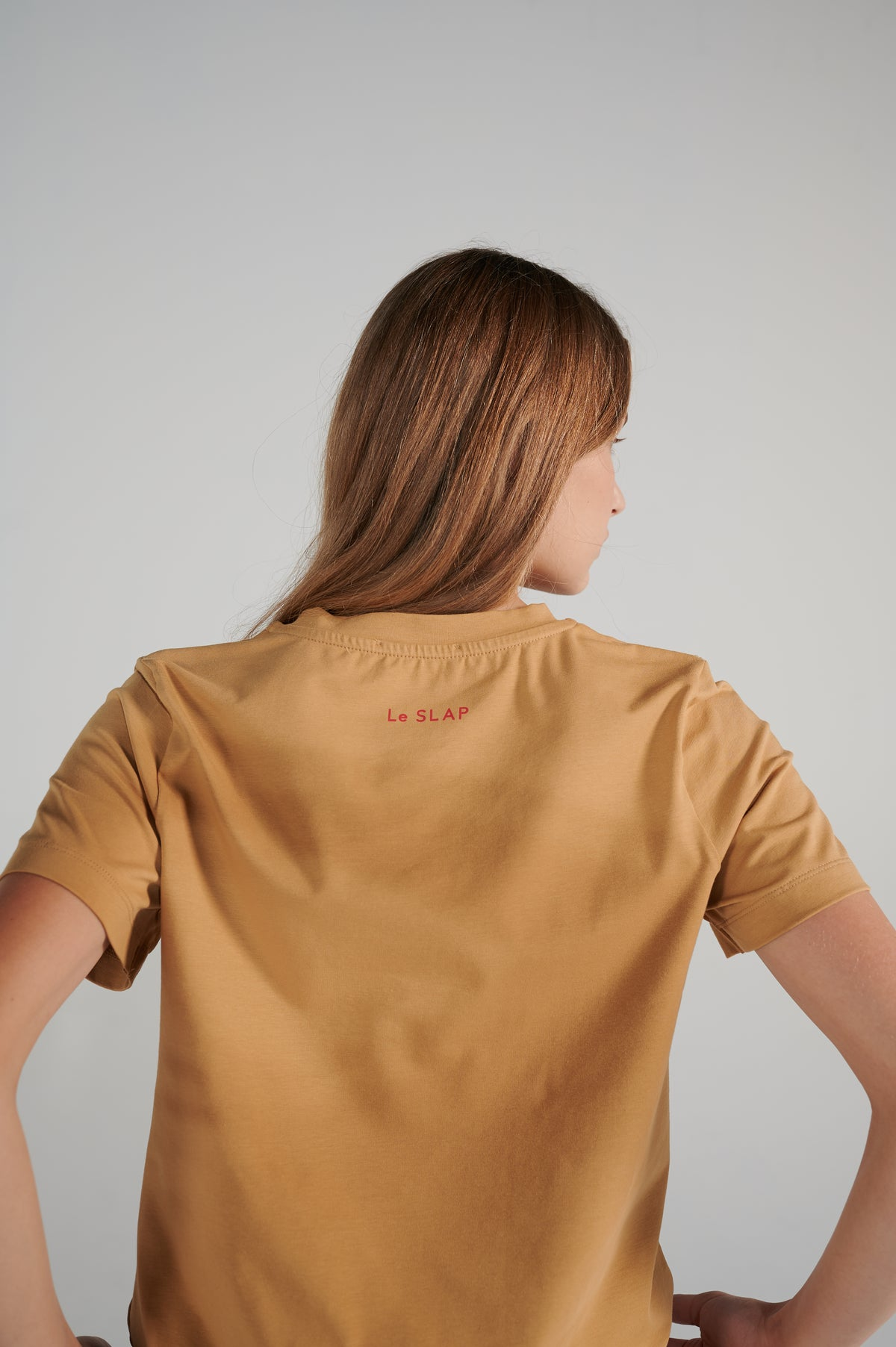 le-slap-red-logo-on-the-back-nude-lifetime-slim-fit-nude-cotton-tshirt.jpg