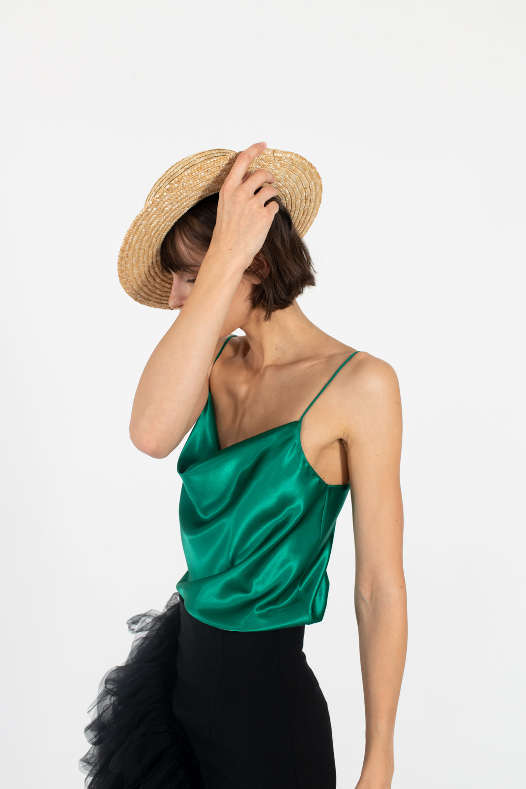NUDIST-Emerald-green-slip-on-top-alternative-silk-summer-tshirt-cowl-neck-le-slap.jpg