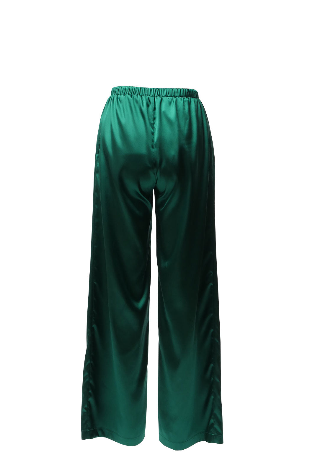 NUDIST | Emerald green palazzo pants
