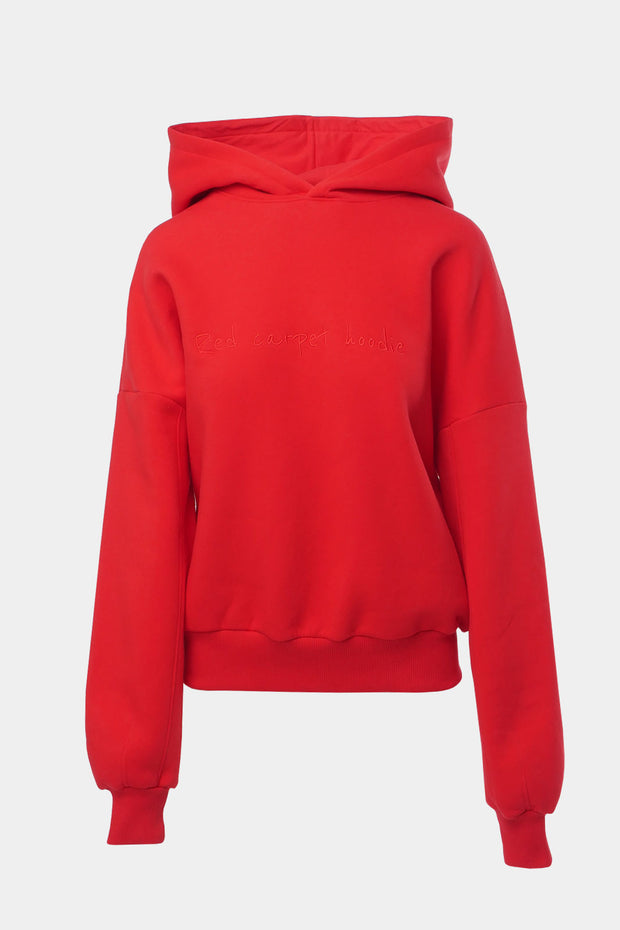 Red Carpet | Deep red hoodie