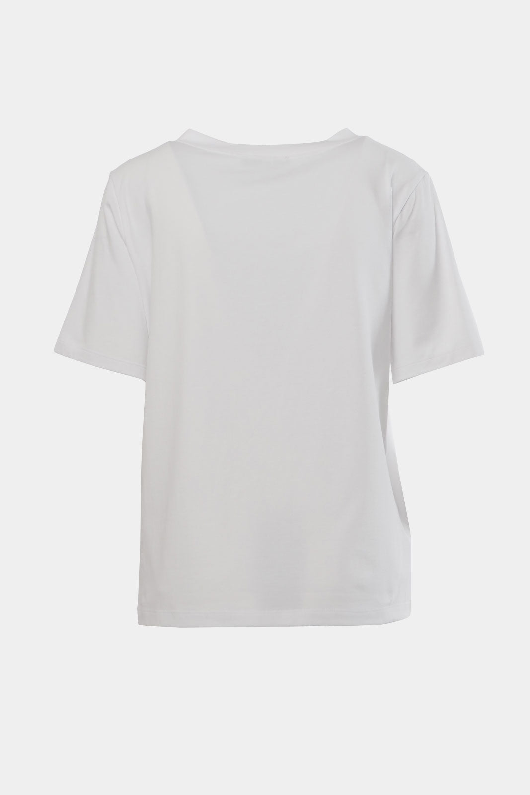 Wonderland | Pure white cotton quote t-shirt
