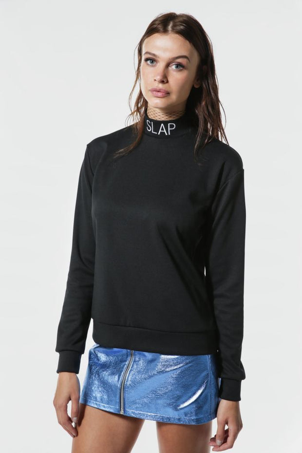 SLAP-Black-turtleneck-sweater-with-wording-le-slap-clothing.jpg
