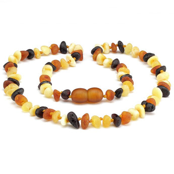 Baby teething amber necklace 80