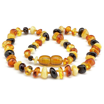 Baby teething amber necklace 81