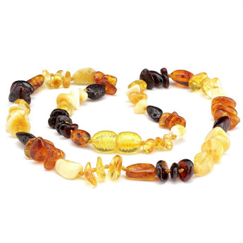 Baby teething amber necklace 82