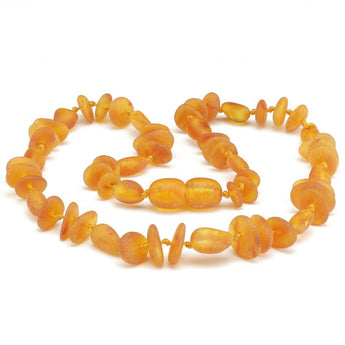 Baby teething amber necklace 83