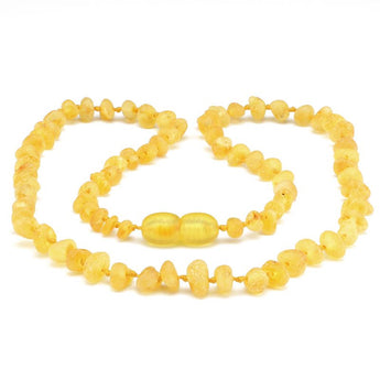 Baby teething amber necklace 84