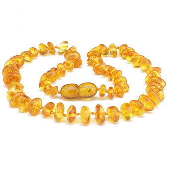 Baby teething amber necklace 89