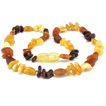 Baby teething amber necklace 96