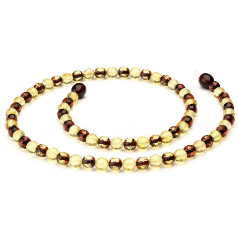 Baltic amber necklace 218