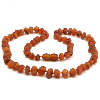 Baroque baltic amber necklace 247