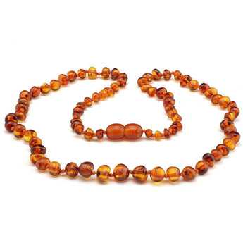 Baroque baltic amber necklace 260