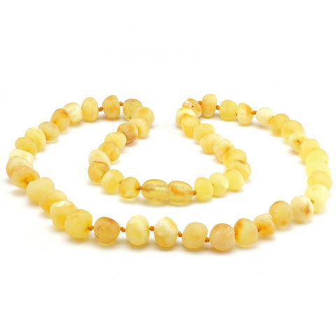Baroque baltic amber necklace 268