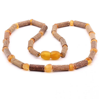 Baroque baltic amber necklace 280