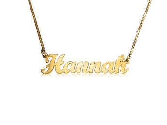 Perfect Penmanship 14k Gold Child Size - My Boho Jewelry