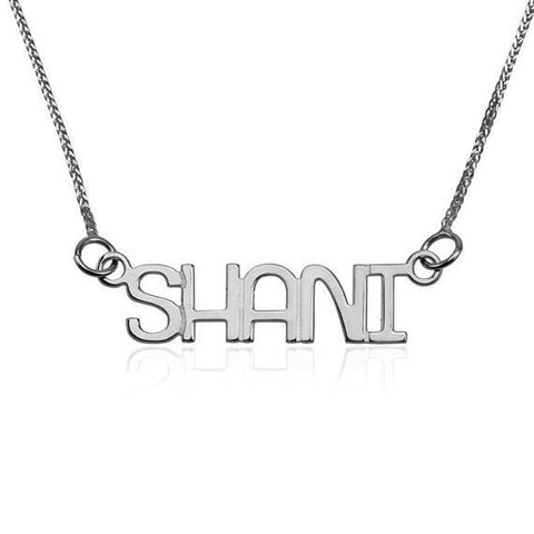 Gold name chain 925 sterling silver name necklace custom gold gold name chain 925 sterling silver name necklace custom gold pendant english capital aloadofball Images