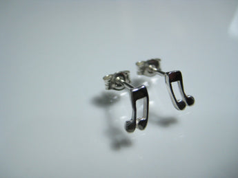 Music note earrings musical note ear stud earring gifts for musicians music lover earrings music lover gifts - My Boho Jewelry