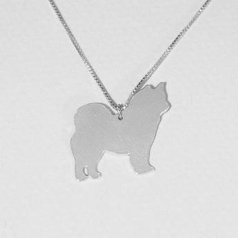 Dog Necklace 925 Sterling Silver ,Pendant,Silver Jewelry , Personalized Pet Jewelry, Animal Charm, Gold Plated also available - My Boho Jewelry