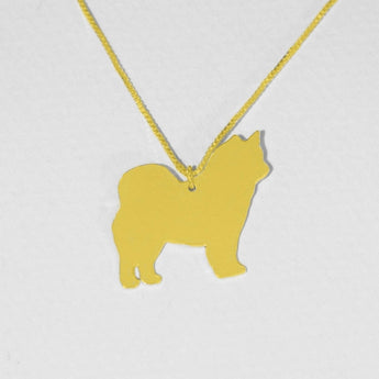 Gold Plated Dog Necklace ,Pendant , Gold Plated Jewelry , Personalized Pet Jewelry, Animal Charm - My Boho Jewelry