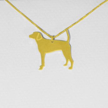 Dog Necklace ,Engraved Pendant, Gold Plated Jewelry , Personalized Pet Jewelry, Animal Charm, - My Boho Jewelry