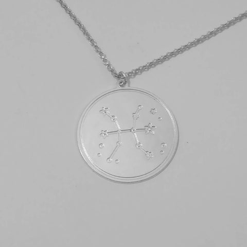 Pisces necklace, 925 Silver, zodiac necklace, pisces jewelry, pisces pendant, zodiac sign necklace, astrology necklace, pisces zodiac - My Boho Jewelry