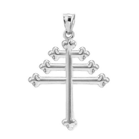 Maronite Cross Necklace Maronite Necklace Catholic Cross Necklace - My Boho Jewelry